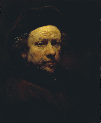 Rembrandt - self-portrait,aged 51