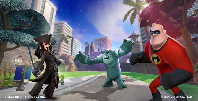 Screenshot of the video game Disney Infinity