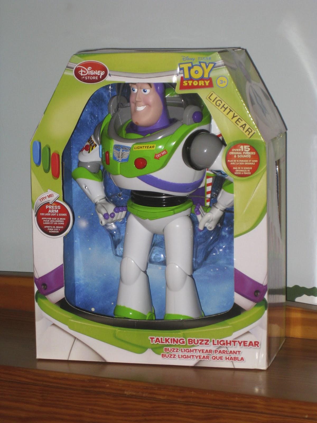 Disney Store Toys : Dan the pixar fan toy story disney store buzz lightyear