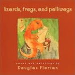 lizards, frog, and polliwogs art
