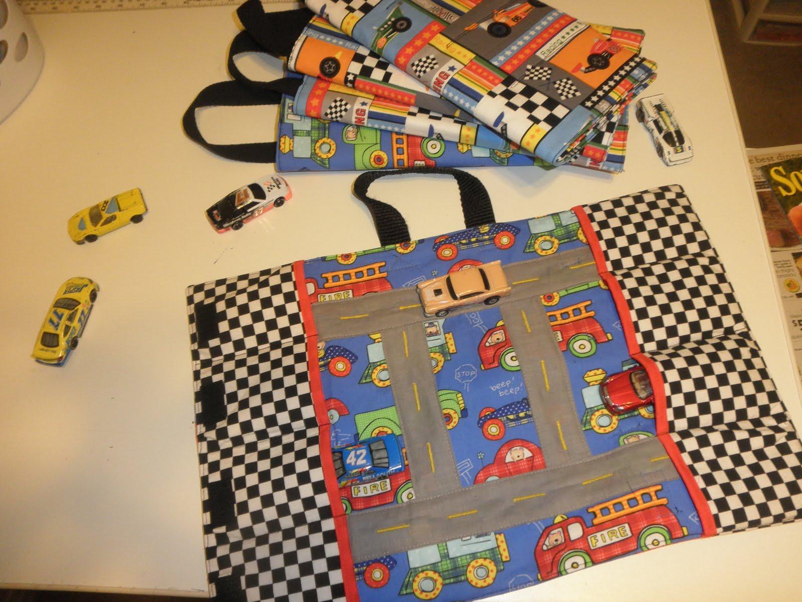 Teresa S Creations Race Car Mat