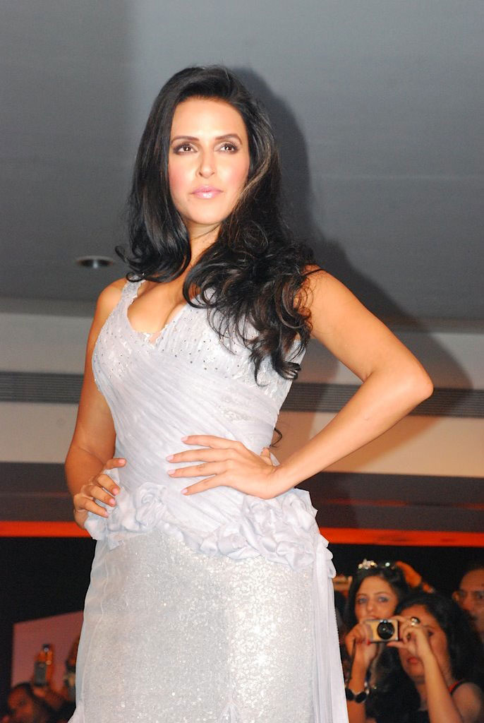 Hot Neha Dhupia on Ramp for Blenders Pride