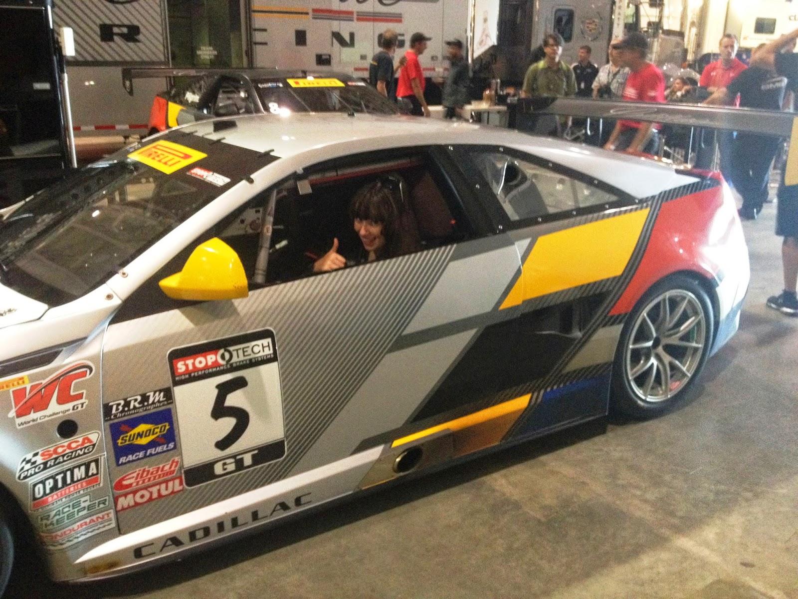 The Cadillac Racing Team Car