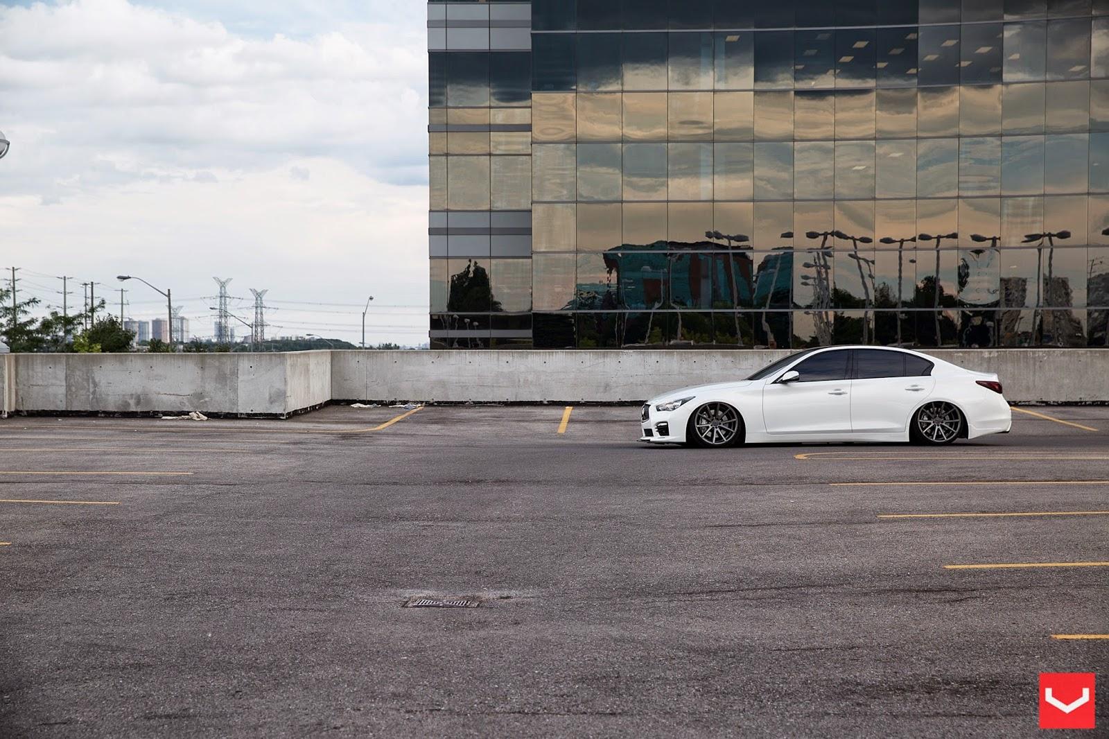 Infiniti Q50 On VFS1 By Vossen Wheels
