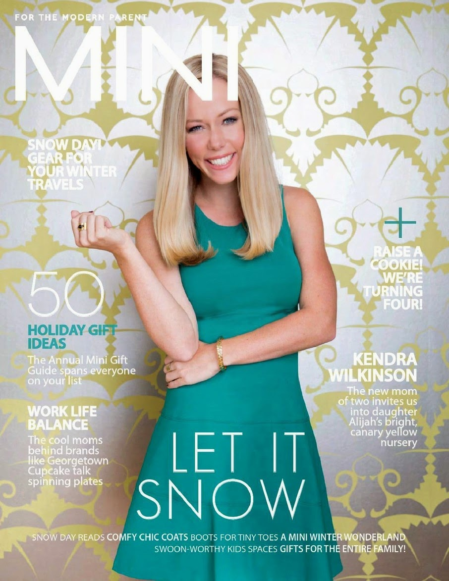 Kendra Wilkinson - Mini Magazine, Holiday 2014