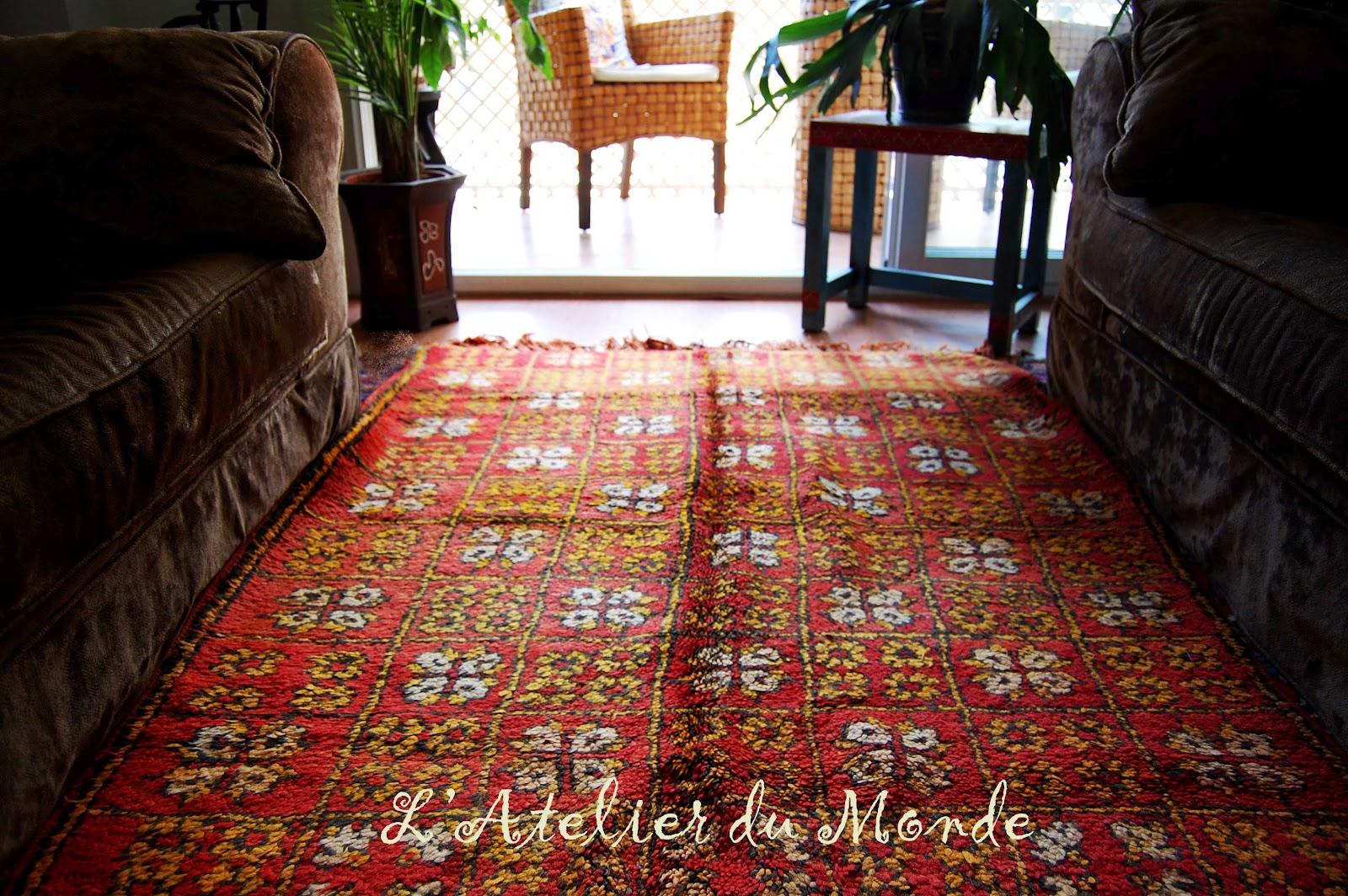 L 39 atelier du monde alfombra hecha a mano - Alfombras a mano ...
