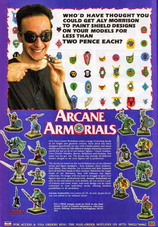 Mas Oldhammer:Ravening Hordes,Arcane Magic y Arcane Armorials