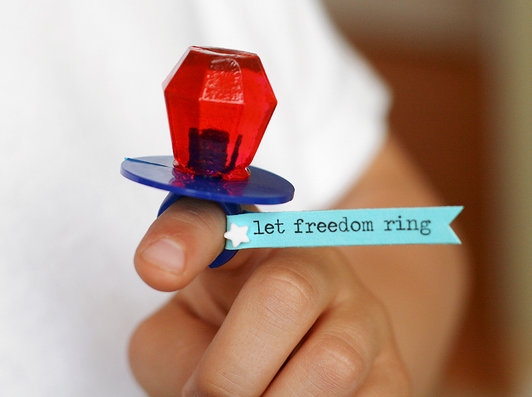 4th Of July ring