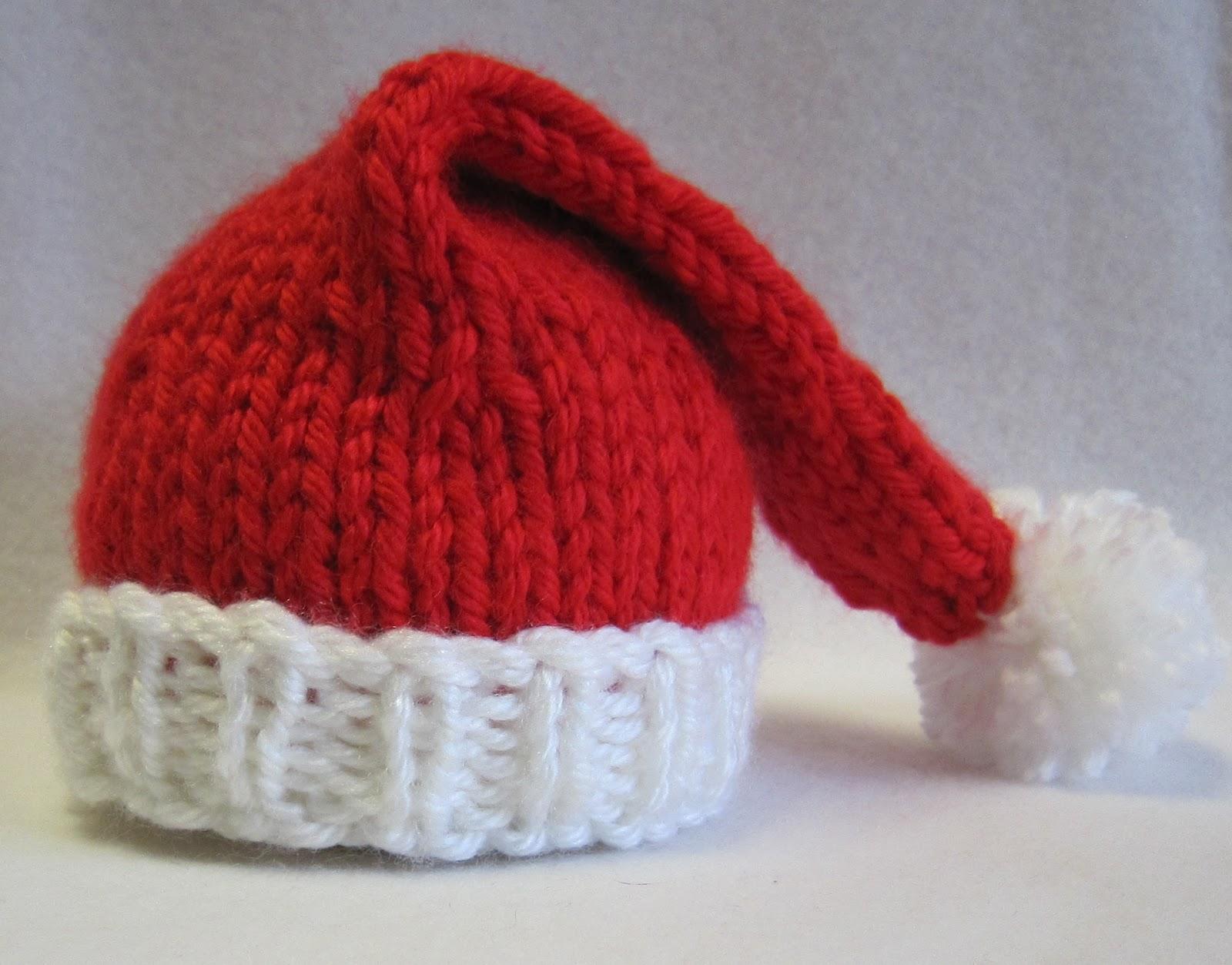 modele tricot bonnet noel