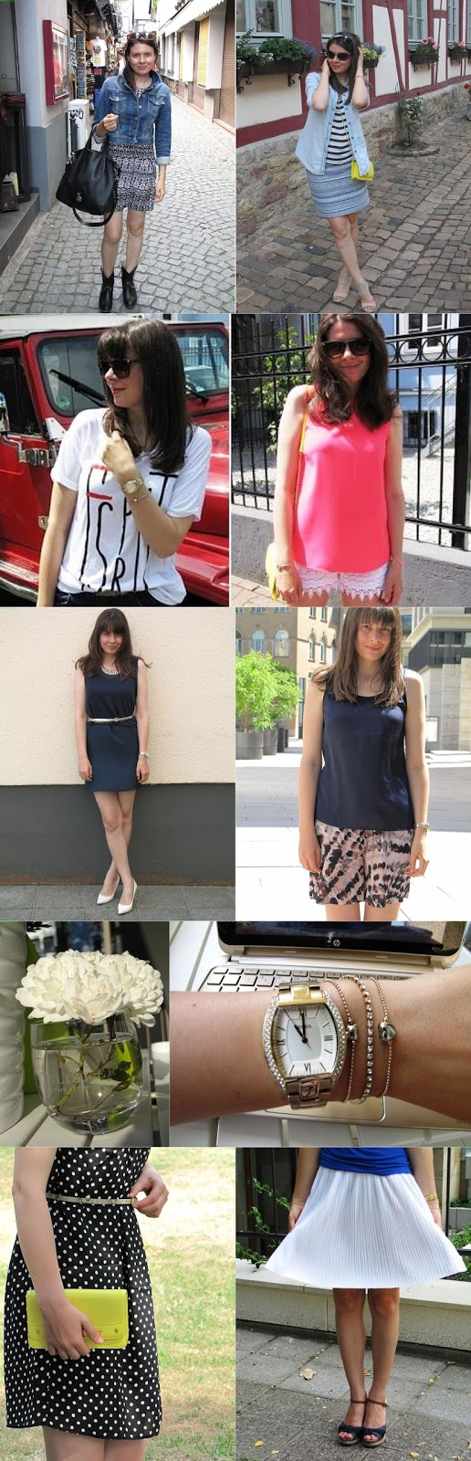 Fashion blogger from Germany, outfits