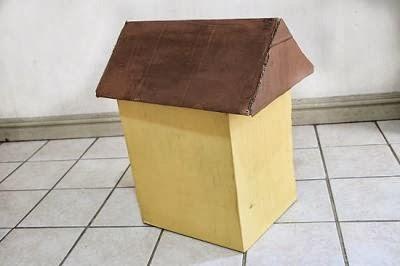Manos a la obra como hacer una casa de cart n for Como techar una casa