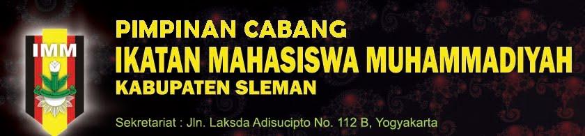 Pimpinan Cabang IMM Kabupaten sleman