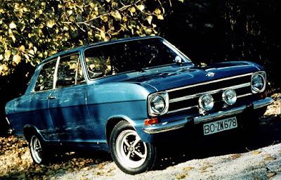 Opel Kadett. Das Auto