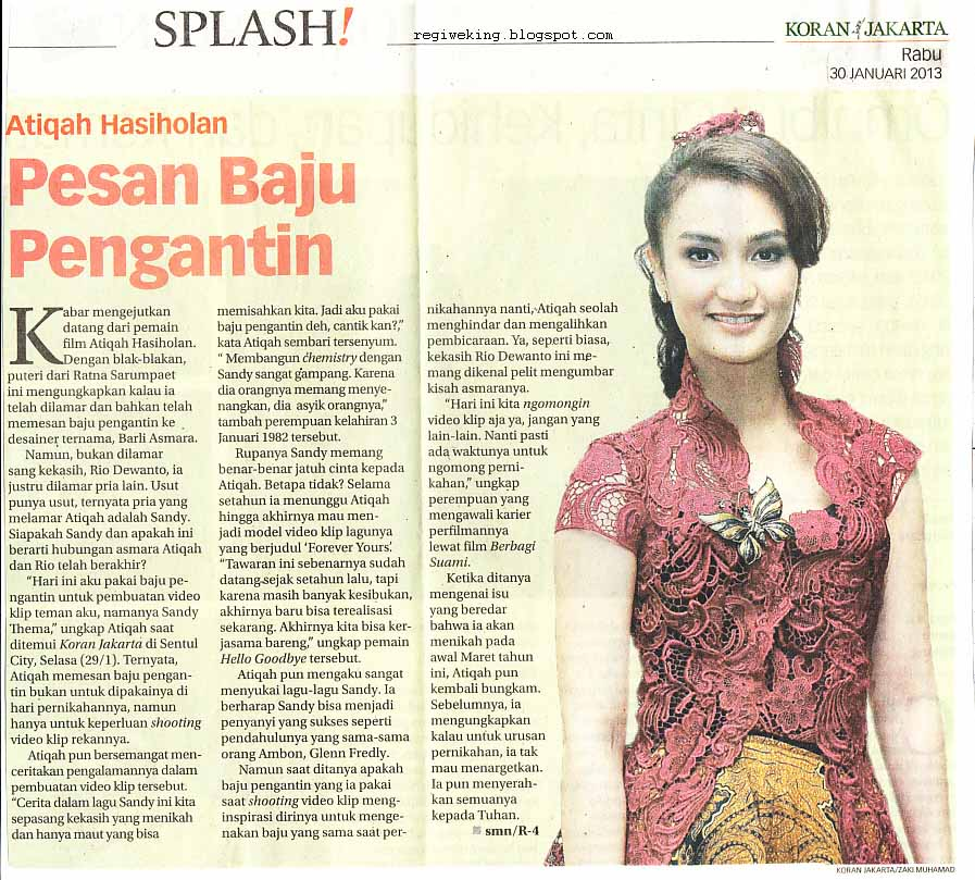 Clippings of Indonesian Women  Nabila Zachrie