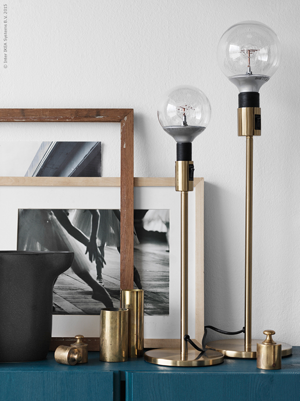 ikea news a kind of brass lamp. Black Bedroom Furniture Sets. Home Design Ideas