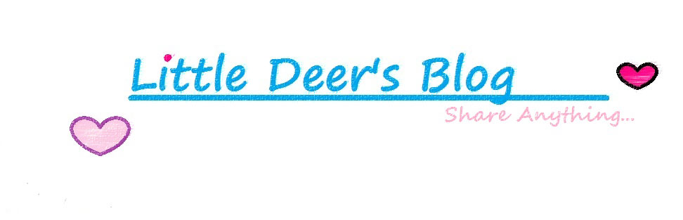 Little Deer's Blog