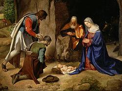 Sceneta de Craciun pentru serbare - Nasterea Domnului Nostru Iisus Hristos