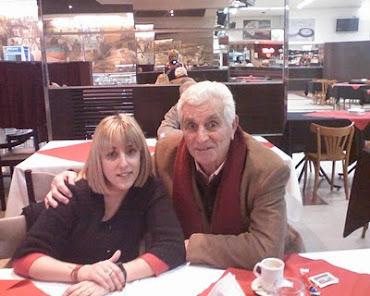 Con mi gran Amadeo..