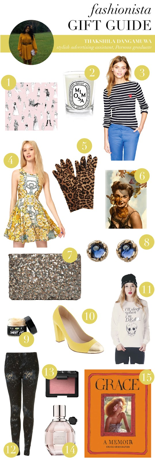 gift guide for the fashionista (via Holly Would)
