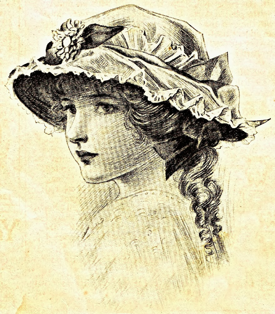 1900's-Clothing-Fashions-Child's-Hats