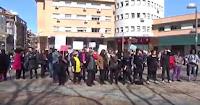 8 Marzo: Paro de mujeres en Plaza de las Palomas (Tetuán)