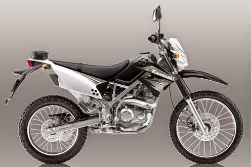 Motor Kawasaki KLX150S