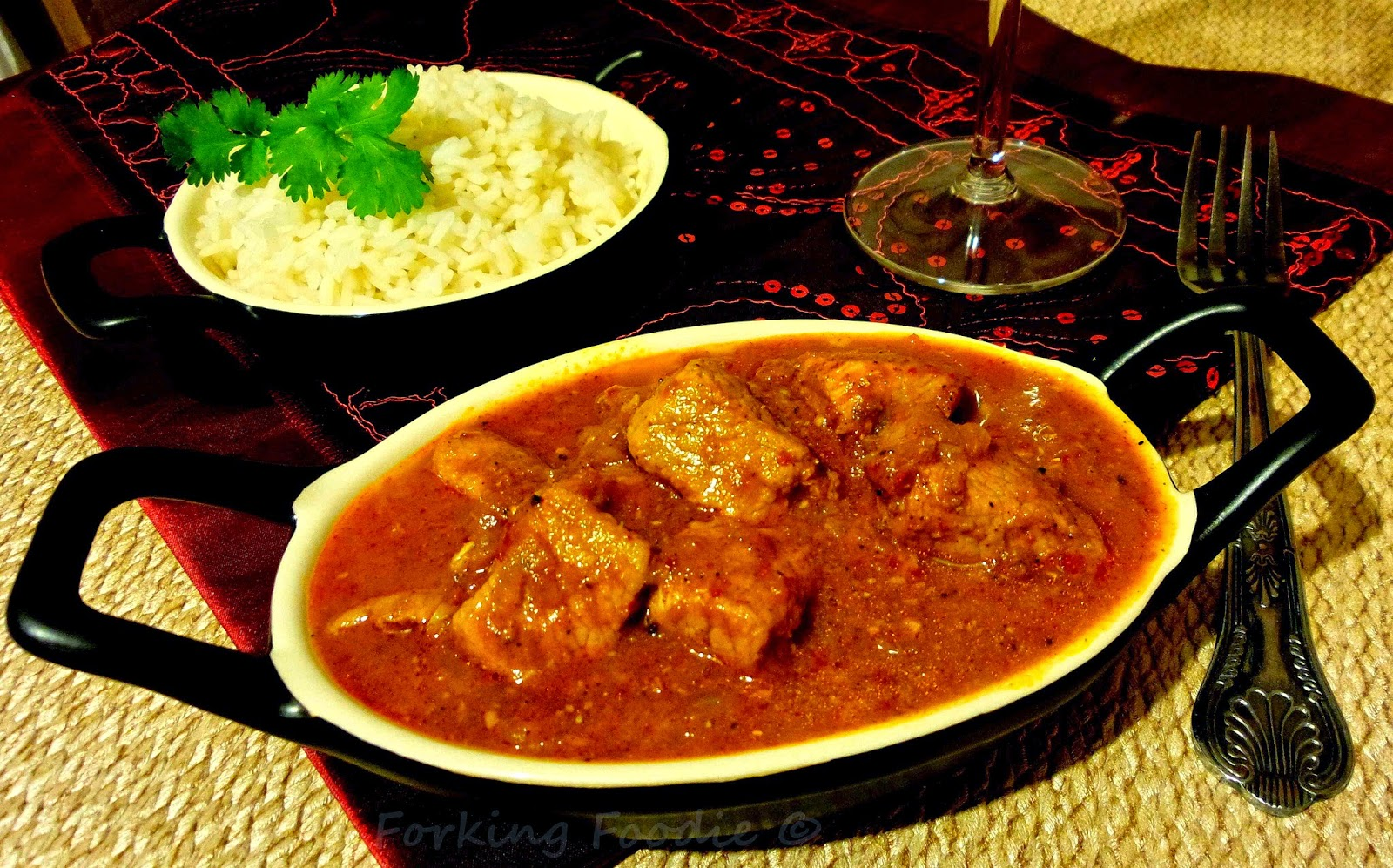 Pork Vindaloo Thermomix