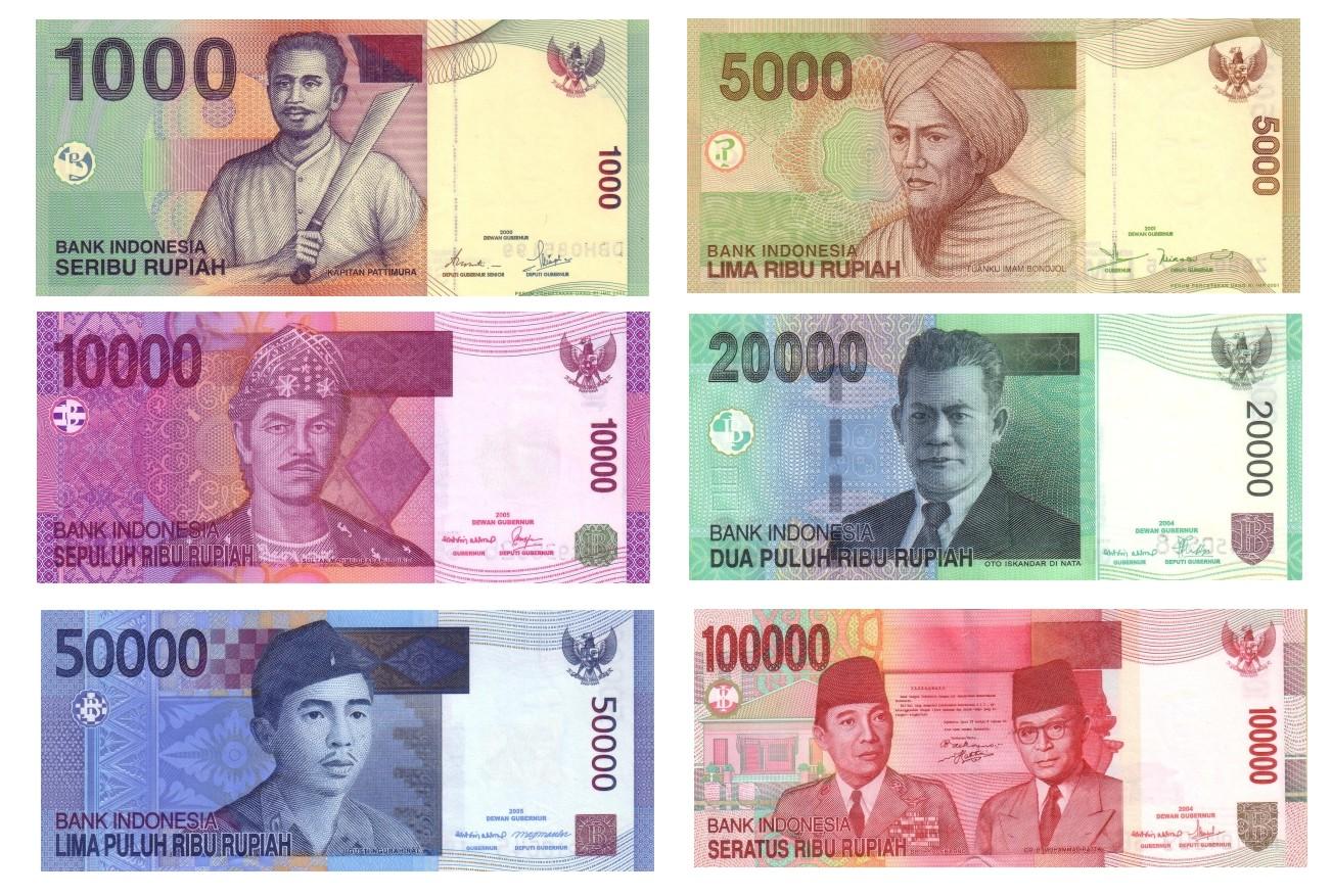 jenis uang kertas