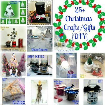 25+ Christmas Crafts/Gifts {DIY} www.withablast.net