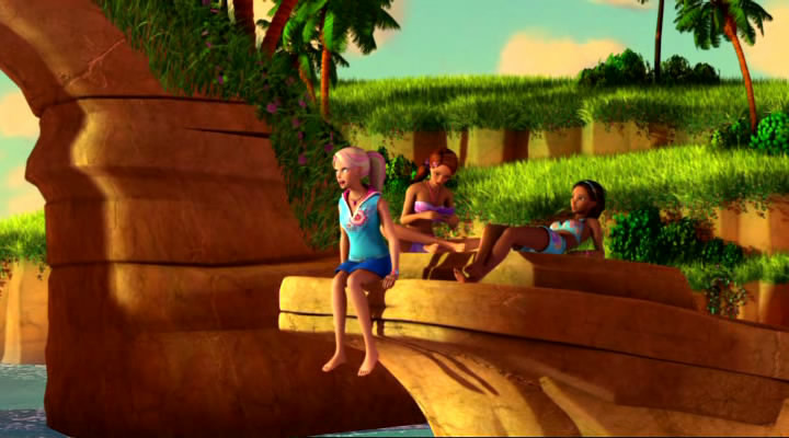Barbie in A Mermaid Tale Cartoon Image