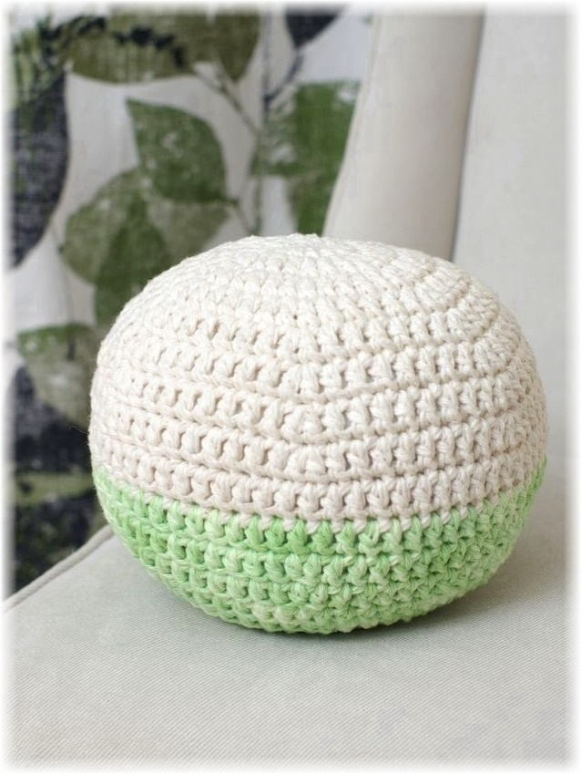 Handy crafter custom made - Pouf blanc conforama ...
