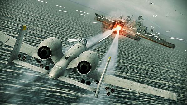 Ace Combat Assault Horizon screenshot 4