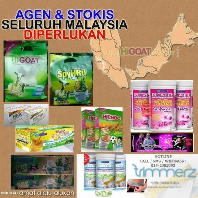 STOKIS HiGOAT DIPERLUKAN DI SELURUH MALAYSIA