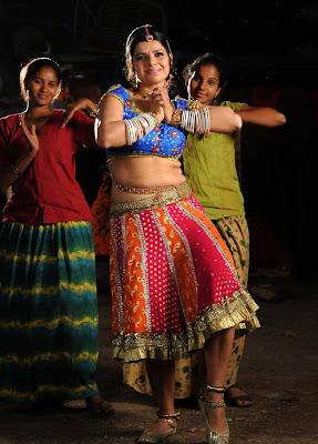 Actress Madhu Sharma in Hot Blouse Stills