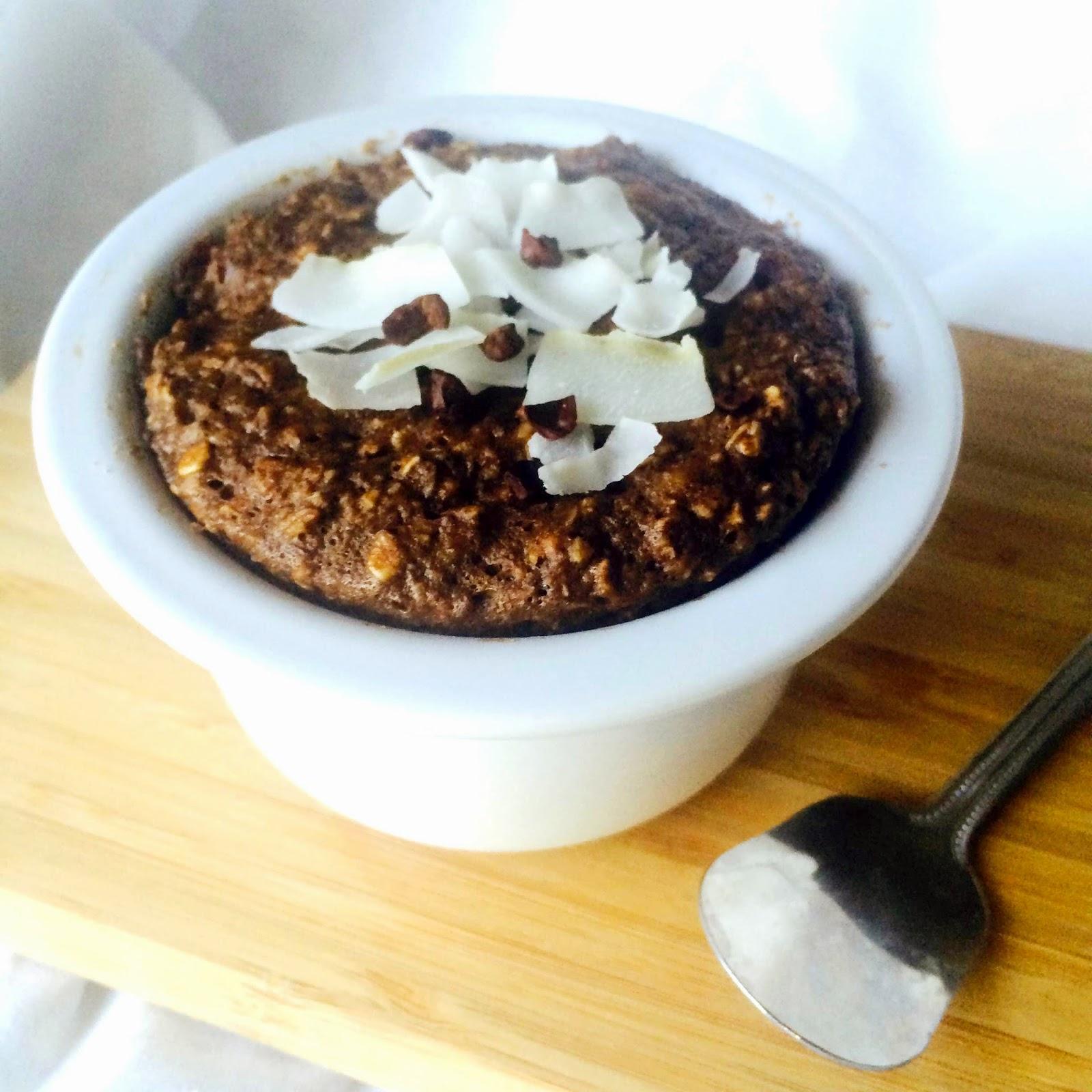 Microwave Baked Chocolate Mini Cake Recipe