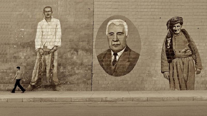 Kurdish History in Wall Murals