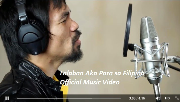Lalaban Ako Para sa Filipino Manny Pacquiao Official Music Video