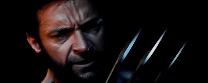 Screen Shot Of Hollywood Movie The Wolverine (2013) In English Full Movie Free Download And Watch Online At Downloadingzoo.Com