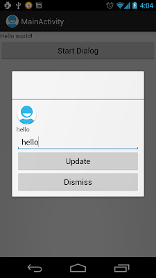 DialogFragment with interface to pass data back to activity