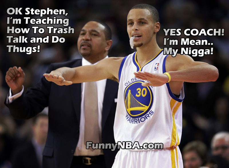 Stephen Curry Dunks Ov...