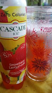 cascade ice  strawberry lemonade