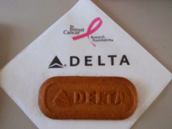 Airline cookie from Delta