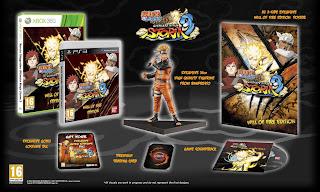 naruto shippuden ultimate ninja storm 3 will of fire edition Europe   Naruto Shippuden: Ultimate Ninja Storm 3   Collectors Editions