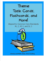 Theme Task Cards, Flashcards, and Wall Charts