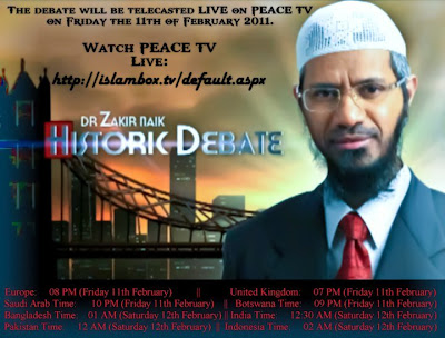 Zakir Naik Oxford Debate