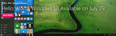 Windows Ten Volition Available On July 29