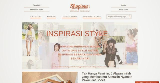 Cari Style Cocok di Shopious