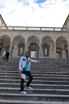 All'abbazia di Montecassino (2011)