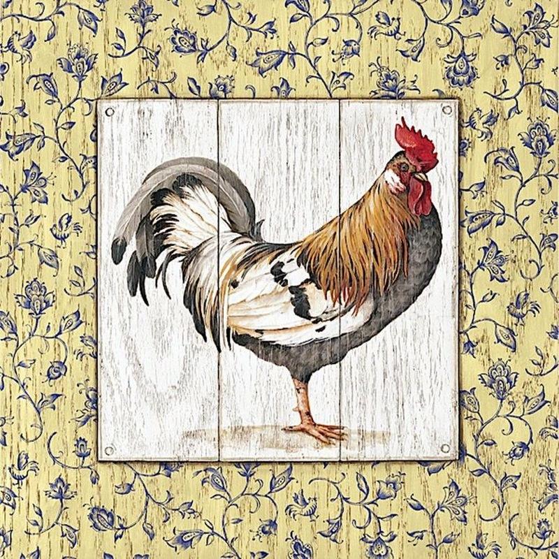 Imprimolandia l minas de gallos para decoupage - Laminas vintage para cocina ...