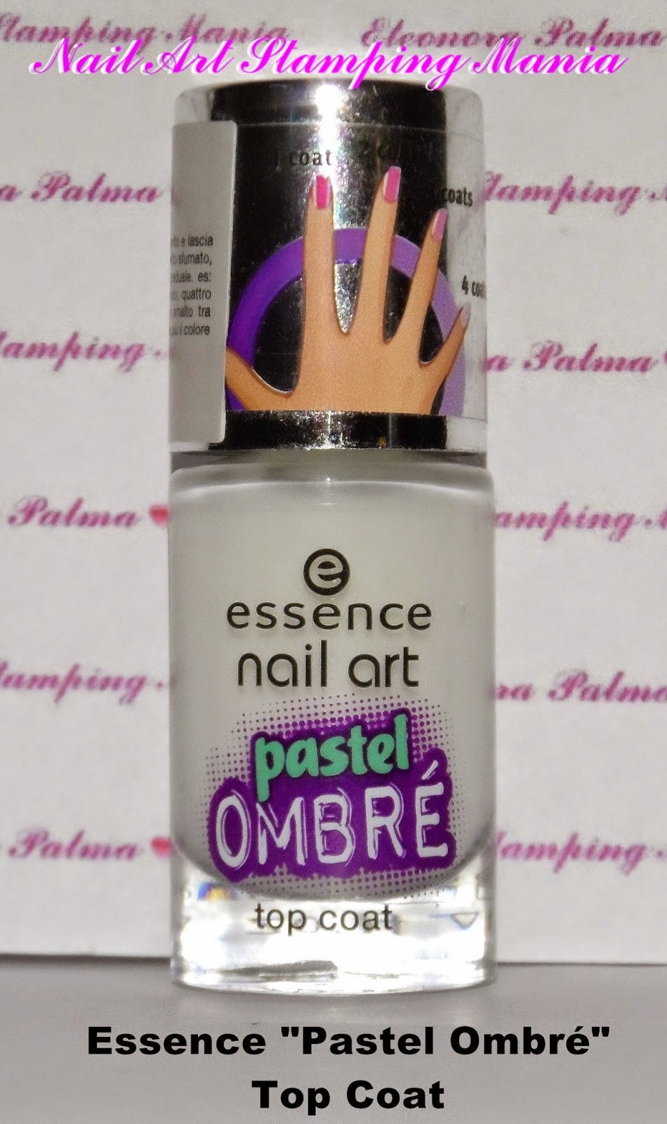 Nail art stamping mania essence pastel ombr swatches and review today i would like to review one of the new essence nail products its about essence pastel ombr top coat it can be used with any kind of nail polishes prinsesfo Choice Image